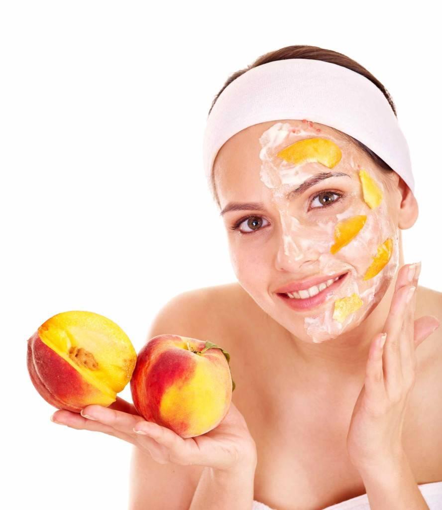 Персик для кожи