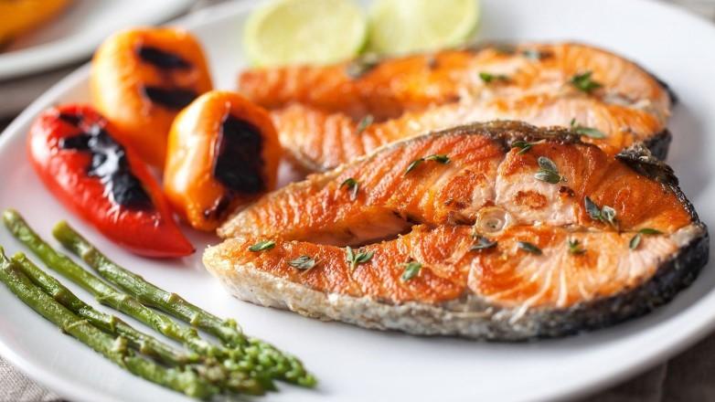 лосось запеченный калорийность