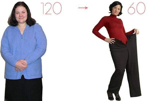 Похудение на 60 килограмм