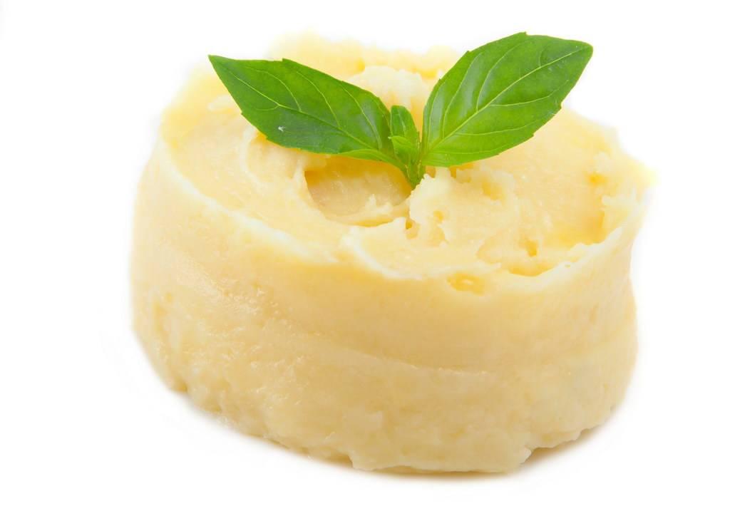 Пюре приготовленное из картофеля