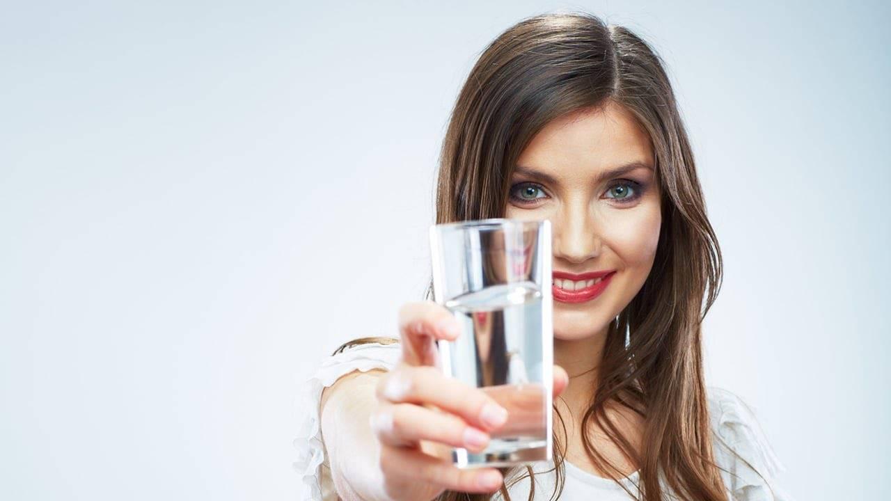 Пьем правильную воду
