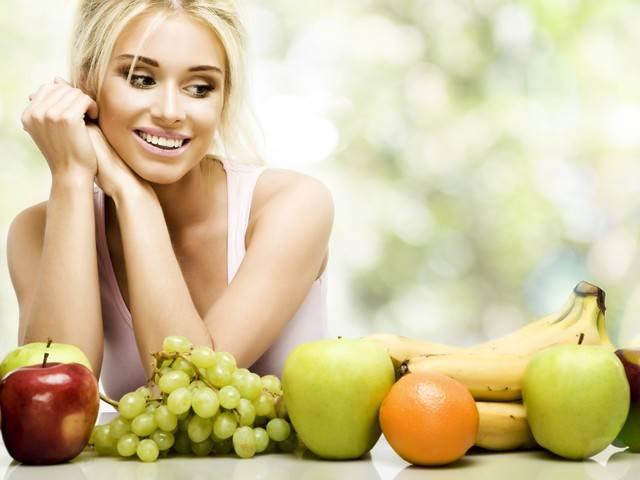Правильное питание - залог быстрого похудения