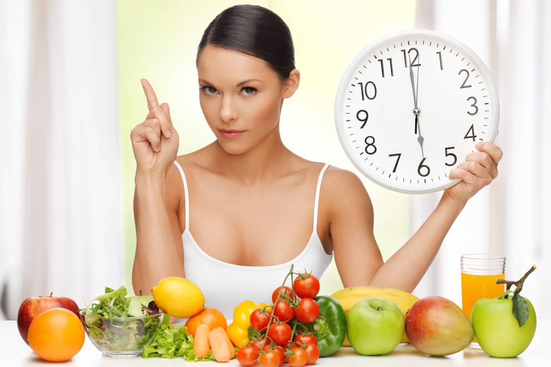 Принимаем пищу по времени