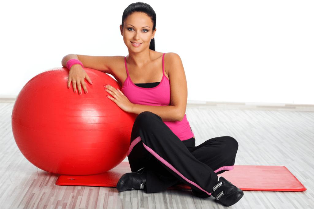 упражнения похудения женщин видео