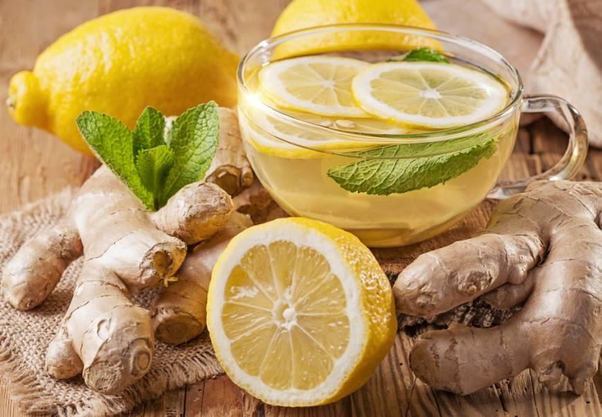 Худеем вместе с имбирем и лимоном