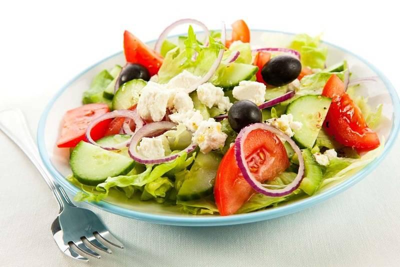 Вкусный и полезный салат