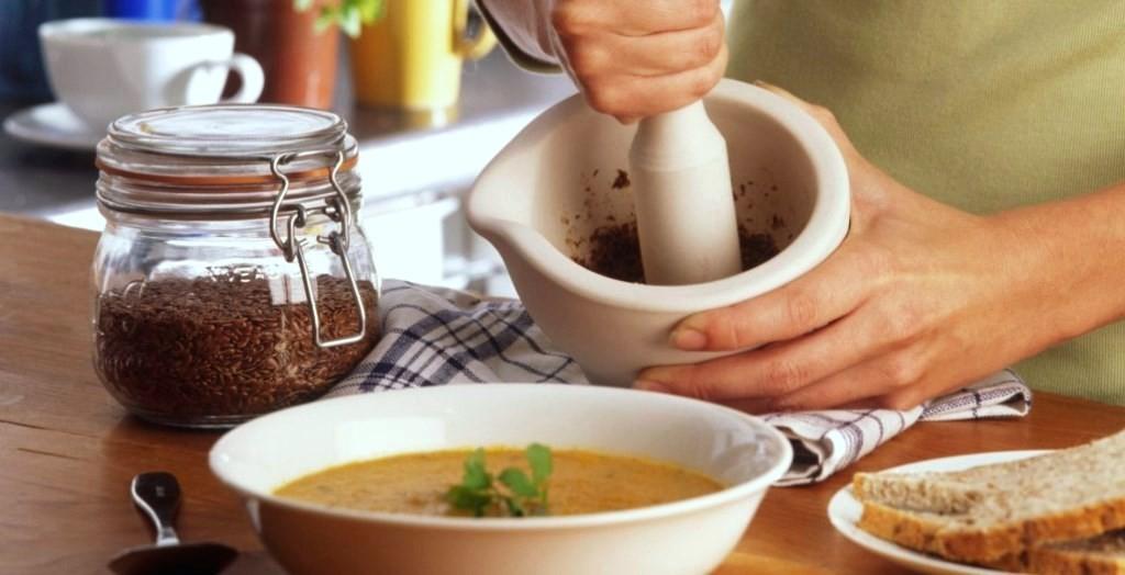 семена льна рецепты
