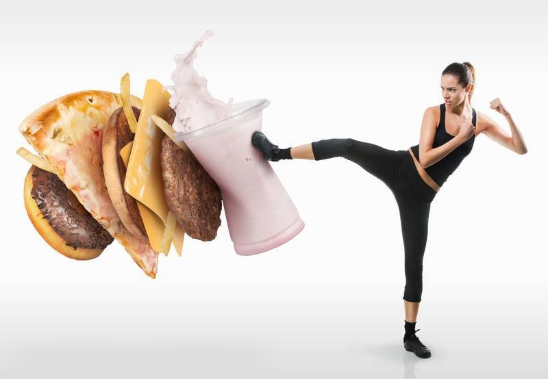 Питание - главное в похудении