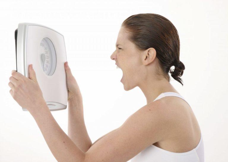 причина остановки веса при похудении
