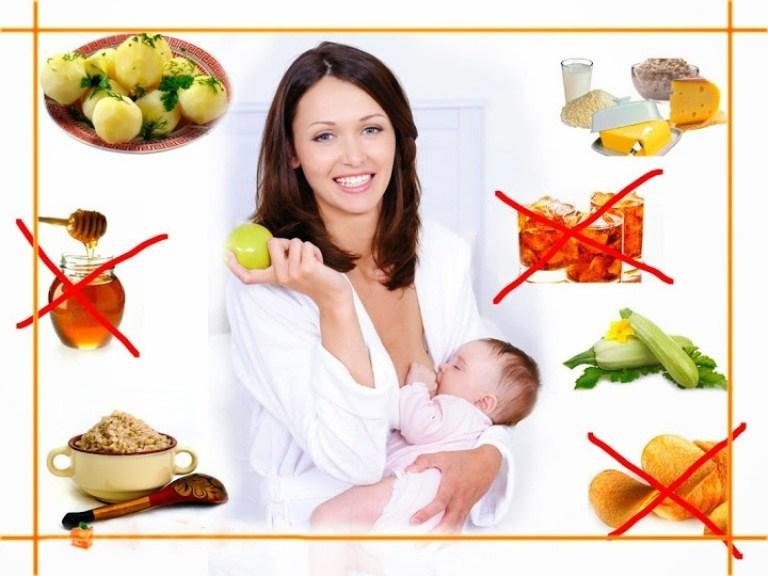 Что можно кушать молодой мамочке