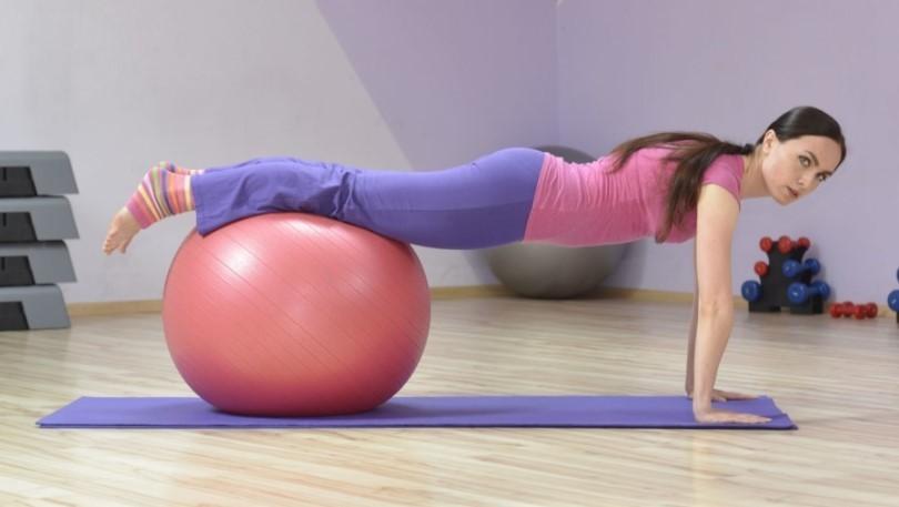 резиновый мяч для фитнеса