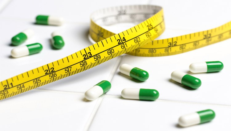Употребление препаратов для похудения