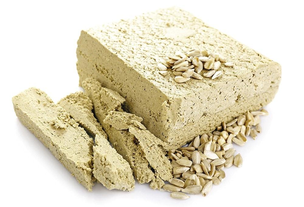 Сколько калорий в халве (подсолнечной, с арахисом)?