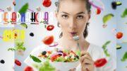 Похудение с помощью вегетарианской диеты