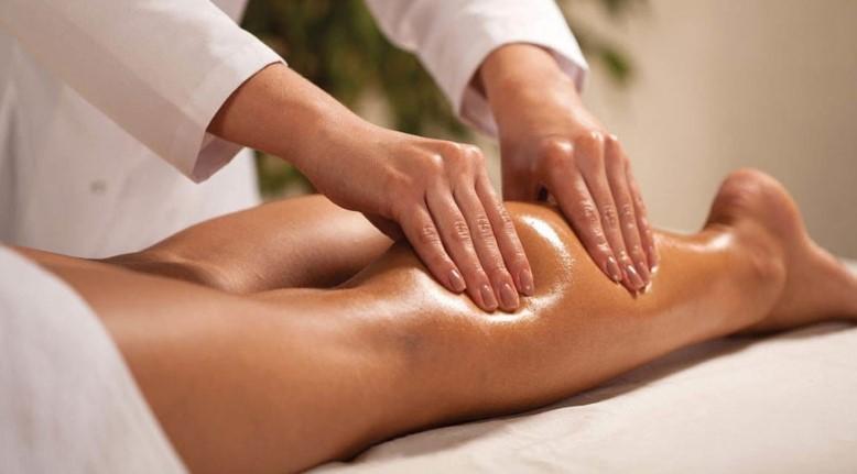 массаж ног после родов