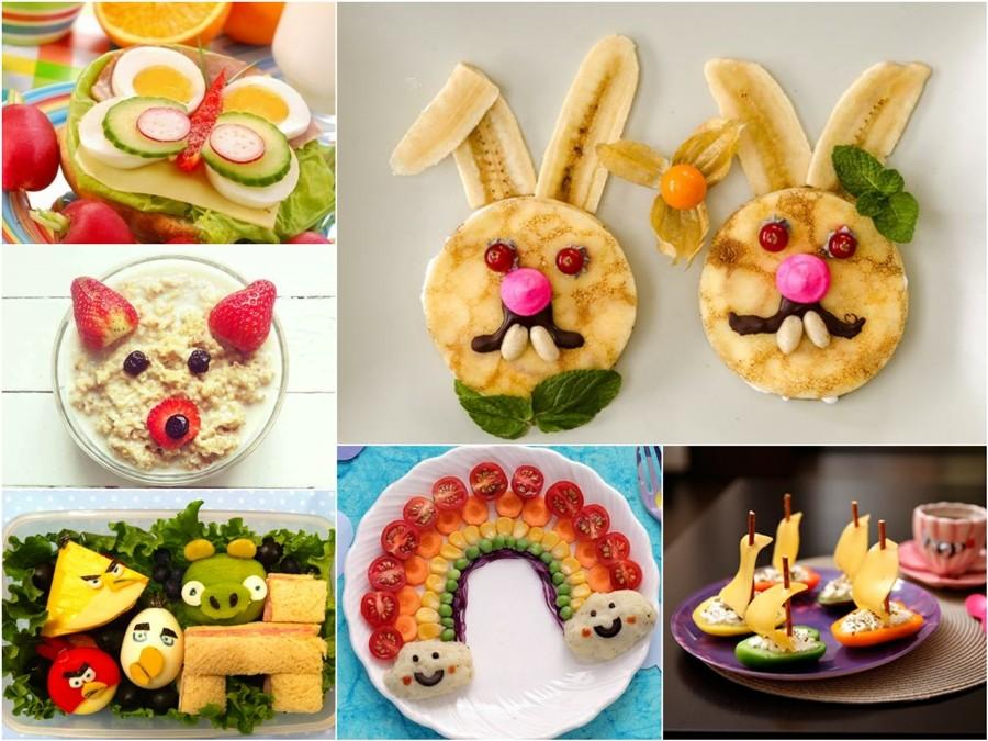 Творчество в тарелке